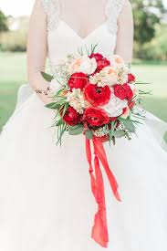 Red Wedding Bouquets 20 Beautiful Bridal Bouquets For The 1950s Loving Bride Chic