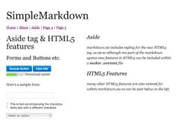 Markdown Template the maker rapid website creation and management the web