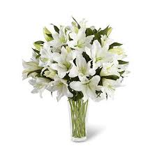 white lilies white lilies flower delivery nyc florist plantshed