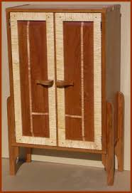 Cd Storage Cabinet With Doors by Custom Furniture Hand Made Arts And Crafts Style Solid Wood