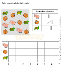 tally chart worksheet 6 math worksheets grade 1 worksheets