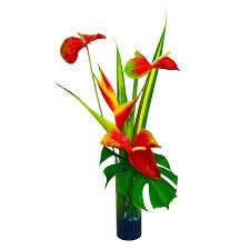 Home Decor Silk Flower Arrangements Tropical Silk Flower Arrangements U2013 Home Design And Decor