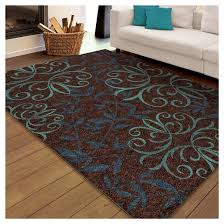 6 X 7 Area Rug Orian Rugs Voyager Promise Transitional Area Rug Brown 5 U00272