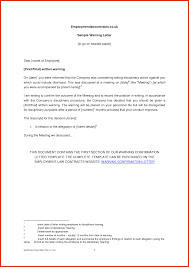 business letters work warning letter templates business sheet