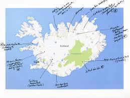 Iceland Map Location Troll Peninsula Iceland Map