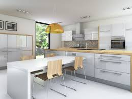kitchen surprising white shaker kitchen cabinets grey floor