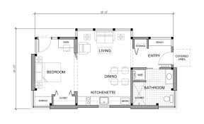 here is the floor plan for the great escape 480 sq ft small the floor plan of the timbercab 550 features a separate bedroom
