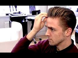 rockabilly hairstyles for boys men s classic rockabilly hairstyle blowdryer tutorial by