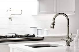popular kitchen faucets kohler expands popular artifacts collection to the kitchen