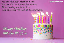 Halloween Birthday Greeting Messages by Happy Birthday Wishes For Mother In Law Quotes And Images