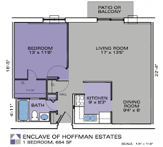 one bedroom floor plan one bedroom apartment enclave apartments