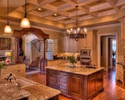 Coffered Ceiling Lighting by Coffered Ceiling Kitchen Houzz