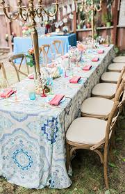 colorful backyard baby shower inspired by this