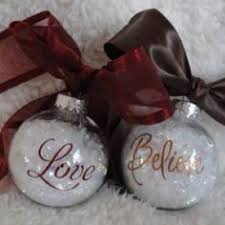 great ornaments for family and friends clear glass ornament and