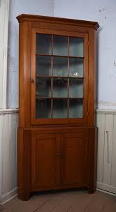 cherry wood corner cabinet antique two piece cherry wood corner cupboard full david m