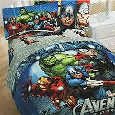 Marvel Baby Bedding Amazon Com Marvel Ultimate Spiderman Twin Comforter U0026 Sheet