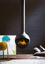 suspended fireplaces oblica designer fireplaces
