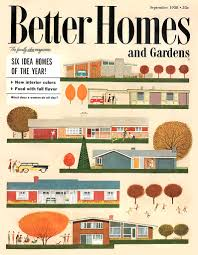 Vintage Modern Home Decor Vintage 50 U0027s Better Homes And Gardens Mid Century Architecture