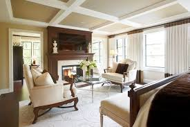 White Ceiling Beams Decorative by Coffered Ceiling With Cross Beams Bedroom Traditional With Tongue
