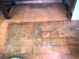 terracotta floor tile cleaning