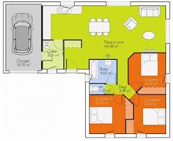 plan de maison de plain pied avec 3 chambres plan maison plain pied 3 chambre 2 gallery of you searched for de
