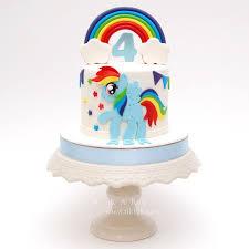 best 25 rainbow dash cake ideas on pinterest my little pony