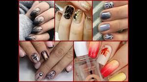 25 cute nail art ideas for fall nail art compilation 2017 youtube