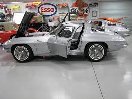 1963 corvette fuelie for sale greg wyatt auto sales 1963 corvette coupe sebring silver fuelie