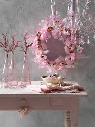 Table Decorations With Feathers Pink Christmas Decorating Ideas All About Christmas