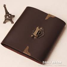 antique photo album aliexpress buy handmade brown pu leather photo album