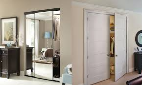 selecting mirror wardrobe or standard closet doors tashman home