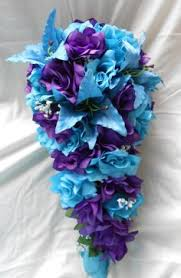 Wedding Flowers Blue Turquoise And Purple Wedding Flowers Blue Wedding Flowers