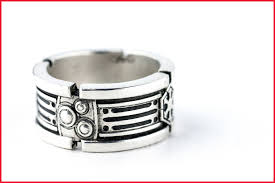 r2d2 wedding ring wars wedding rings 1963 handmade wars light saber