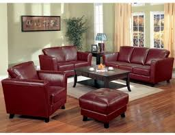 dark red leather sofa 2 pcs red bicast leather contemporary design sofa and loveseat set