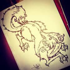 japanese fox spirit tattoo design tattoodles pinterest