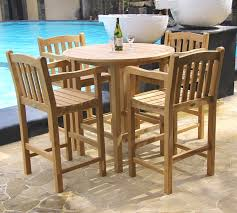 High Table Patio Furniture Classic Patio Bar Table Set