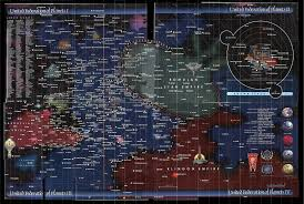 map world ro does a map exist that shows trek civilizations worlds in