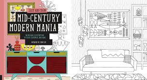 Mid Century Modern Homes For Sale Memphis by 10 Awesome Coloring Books For Architecture And Design Lovers Curbed