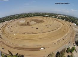 apple u0027s spaceship campus design aerial photos leaked theapplegoogle