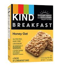 breakfast bar kind breakfast bars honey oat gluten free 1 8 ounce 32 count