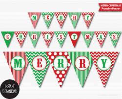 merry christmas banner merry christmas printable banners happy holidays