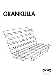 Sofa Chair Bed Ikea by Ikea Grankulla Futon Roselawnlutheran
