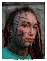 dark 3d native people portrait tattoo photo 7 2017 real photo