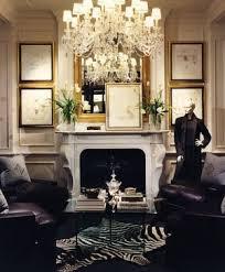 A Glamorous Life Elegant Living Room Ideas - Ralph lauren living room designs