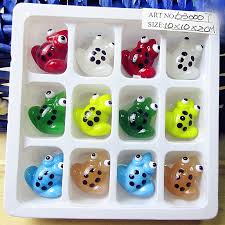 popular glass frog ornaments buy cheap glass frog ornaments lots