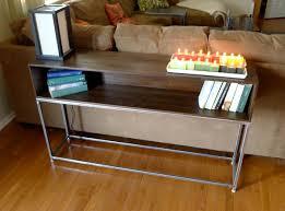 Wood Sofa Table Design Diy Industrial Sofa Table Nyfarms Info