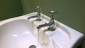 bristan 1901 traditional bathroom basin and bath taps in chrome at