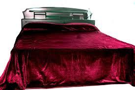 shop online for handmade luxury red velvet bedspreads at casa