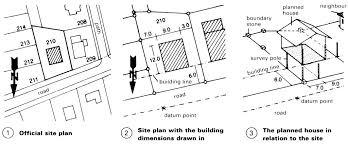 building site plan setting out building site plan i deahouse