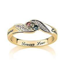 ring engravings engraved promise ring couples ring 14 k solid gold